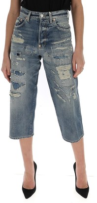 Givenchy Cropped Straight Jeans
