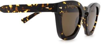 AHLEM Montorgueil Yellow Turtle Sunglasses
