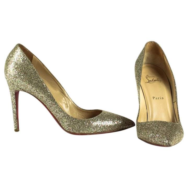 92d182f38198 Christian Louboutin Glitter Heels - ShopStyle