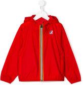 K Way Kids - logo print cagoule jacket - kids - Polyimide - 3 yrs