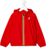 K Way Kids logo print cagoule jacket