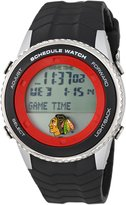 Game Time NHL Men's Schedule Series Chicago Blackhawks Watch #NHL-SW-CHI