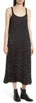 Vince Women's Tossed Ditsy Floral Pleated Slipdress
