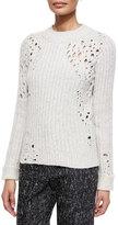 3.1 Phillip Lim Open-Knit Detail Sweater