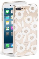 Kate Spade Jeweled Majorelle Iphone Case - Blue