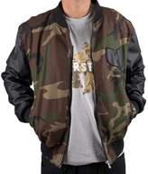 Wu-Wear Protect Ya Neck College Bomber Jacket Wu-Tang Clan M-XXL