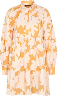 Stine Goya Jasmine Printed Cotton-blend Mini Dress