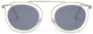 Thierry Lasry Potentially Silver & Solid Grey