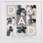 Minted Best Dad Ever Boxes Custom Photo Art Print