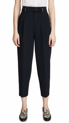 Joie Women's Belted Tapered Trouser
