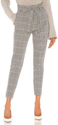 Cupcakes And Cashmere Tallulah High Waist Houndstooth Pant