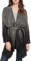 BB Dakota Women's Myles Ombre Blanket Coat