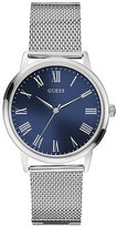 Guess Men's Stainless Steel Mesh Strap Watch