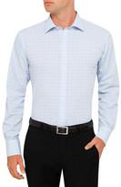 Van Heusen Blue and Navy Check Slim Fit Shirt