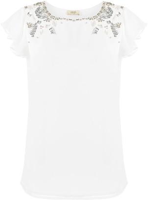Liu Jo bead embellished blouse