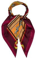 Hermes L'Equenges Silk Scarf
