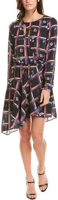 Parker Asymmetrical Faux Wrap Dress