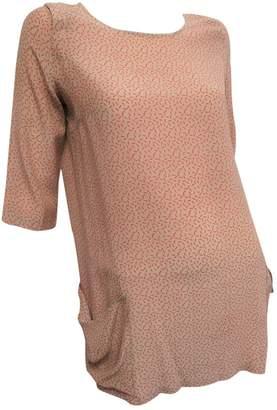 Attic And Barn Pink Silk Dresses