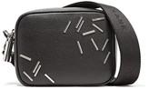 Christopher Kane Embellished Leather Shoulder Bag - Black