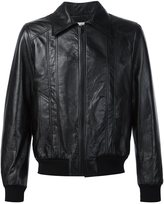 Saint Laurent 70s sunburst leather jacket - men - Lamb Skin - 46