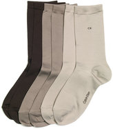 Calvin Klein Women's Dressy Tactel 3 Pack Socks
