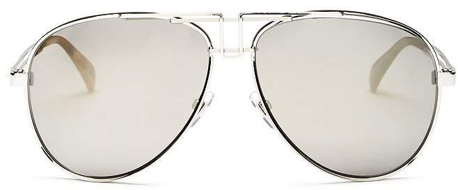 Givenchy Men's Brow Bar Aviator Sunglasses, 61mm