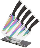 Tower 5 Piece Knife Set with Acrylic Stand