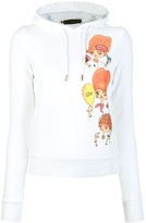 DSquared Dsquared2 printed hooded sweatshirt