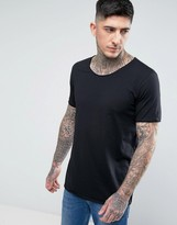 HUGO Depus Slim Fit Basic Crew Neck T-Shirt