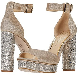Jessica Simpson Everyn 2 (Champagne) Women's Shoes