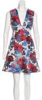 Mary Katrantzou Jacquard A-Line Dress