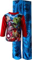 "Avengers Little Boys' ""Lightning Strike"" 2-Piece Pajamas - red/multi"