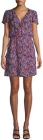 Parker Justice Multicolor Ruffle Mini Dress