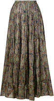 Mes Demoiselles floral print pleated skirt