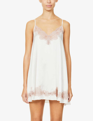 Nk Imode Aurora Forever silk-satin and lace chemise