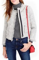 J.Crew Metallic Tweed Lady Jacket