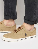 Polo Ralph Lauren Vaughn Cotton Twill Sneakers