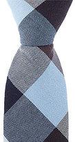Original Penguin Corman Plaid Skinny Cotton Tie