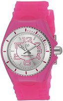 Technomarine Women's 'Cruise Jellyfish' Swiss Quartz Stainless Steel and Silicone Casual Watch, Color:Pink (Model: TM-115127)