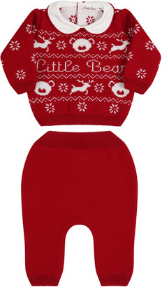 Little Bear Red Suit For Babykids