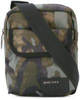 Diesel camouflage print shoulder bag