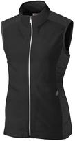 Cutter & Buck Black Laura Hybrid Vest