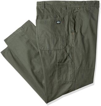 Key Apparel Men's Big and Tall Rip Stop Dungaree Pants