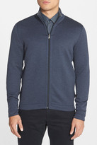 HUGO BOSS Fossa Reversible Zip Sweatshirt