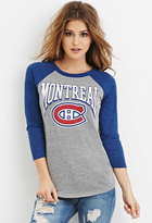 Forever 21 Montreal Canadiens Graphic Tee