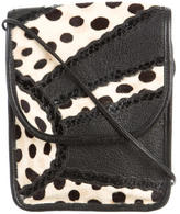 Carlos Falchi Patchwork Crossbody Bag