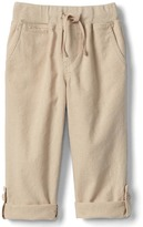 Gap Linen roll-up pants