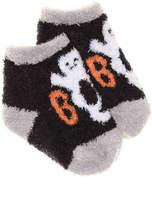 Mud Pie Girls Ghost Infant Ankle Socks -Black