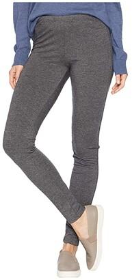 Splendid French Terry Leggings (Charcoal) Women's Casual Pants