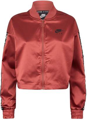 Nike Satin Air Logo Jacket